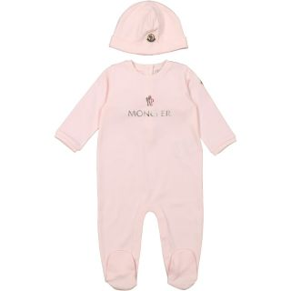 Baby Girls Romper And Hat Set