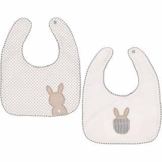 Baby Boys Bunny Bib Set