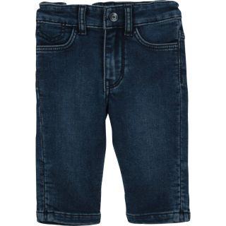 Baby Boys Blue Jersey Jeans