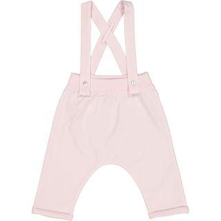 Babies Pink Jersey Dungarees