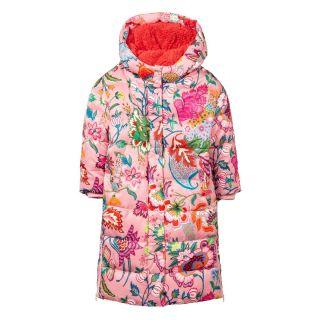 Girls Cave Pink Duvet Coat