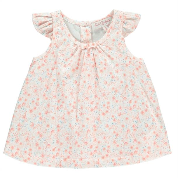 Baby Girls Floral Tunic Top
