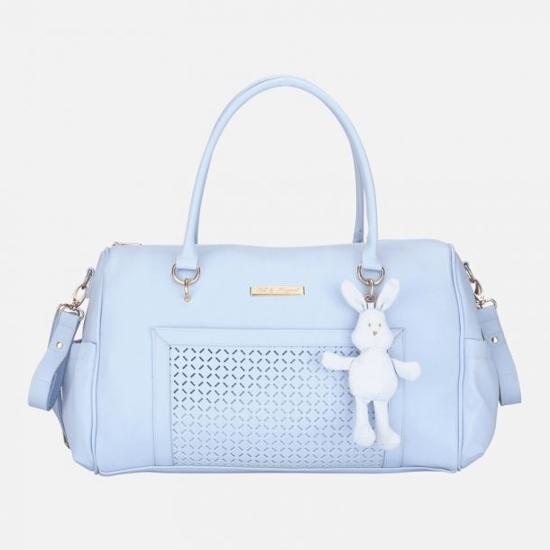 Blue Bunny Changing Bag & Mat
