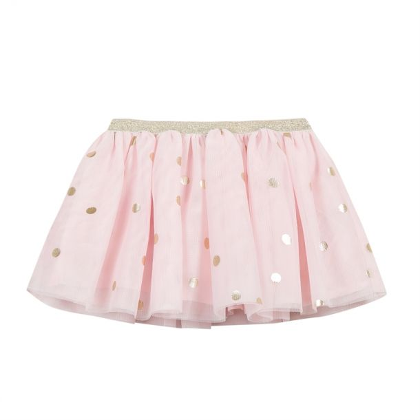 Baby Girls Pink Tulle Skirt
