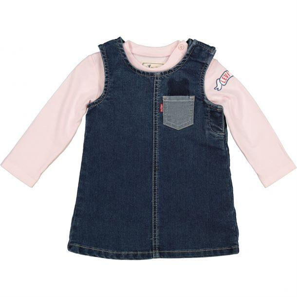 Baby Girls Dress & Top Set