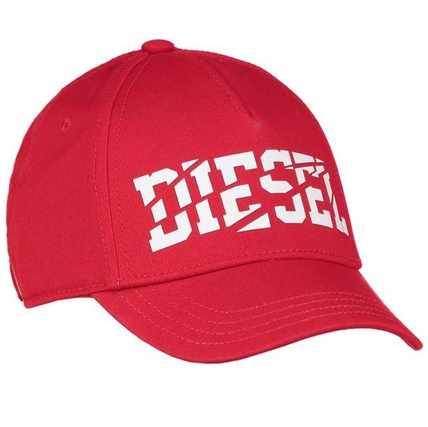 Boys Red Logo Baseball Cap