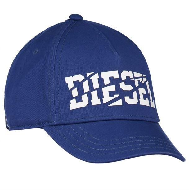 Boys Blue Logo Baseball Cap
