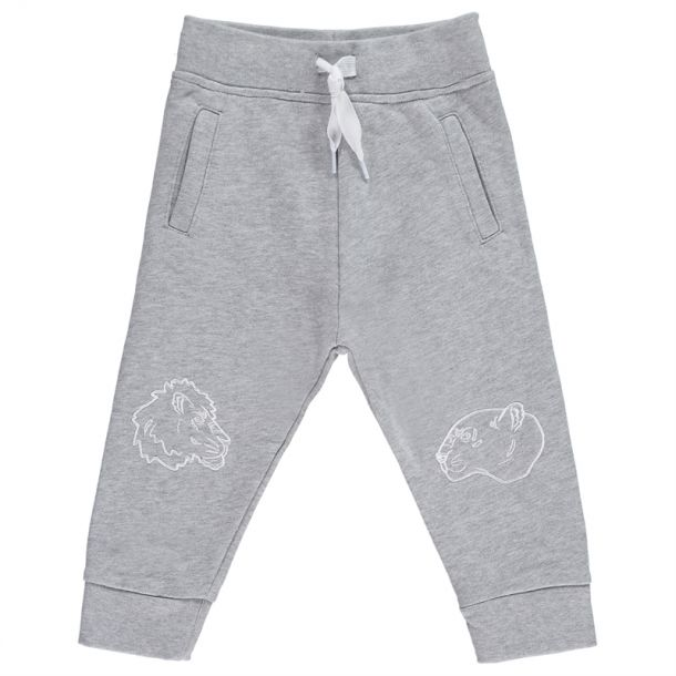Baby Girls Grey Track Pants