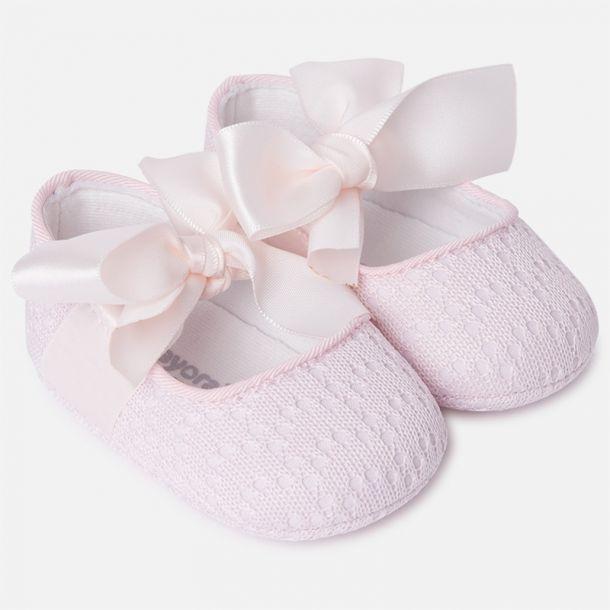 Baby Girls Pink Pre-walkers