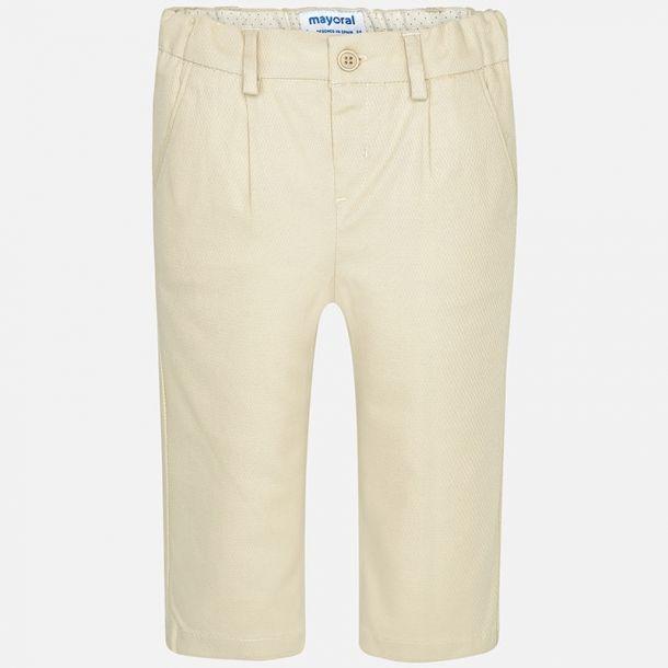 Baby Boys Beige Suit Trousers