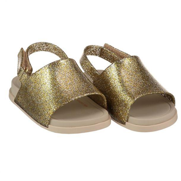 Girls Mini Beach Gold Sandal