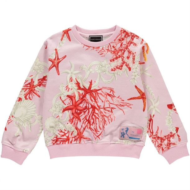 Girls Ocean Print Sweatshirt