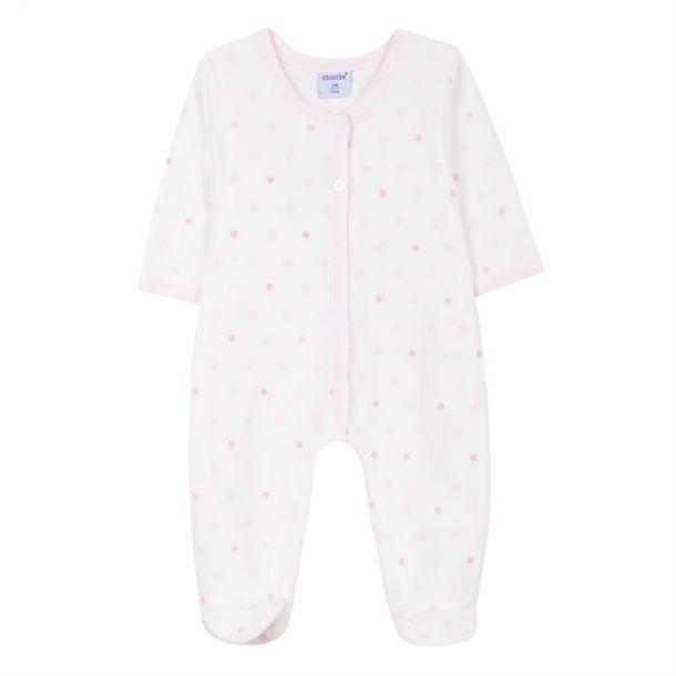 Baby Girls Star Print Romper