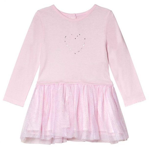 Baby Girls Heart Print Dress