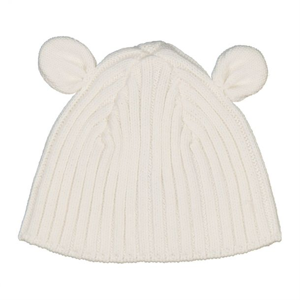 Baby Ivory Ear Detail Hat