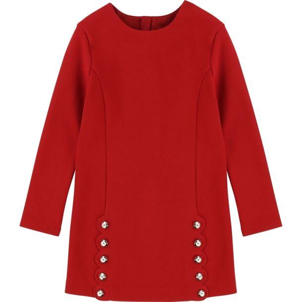 Girls Red 'milano' Dress