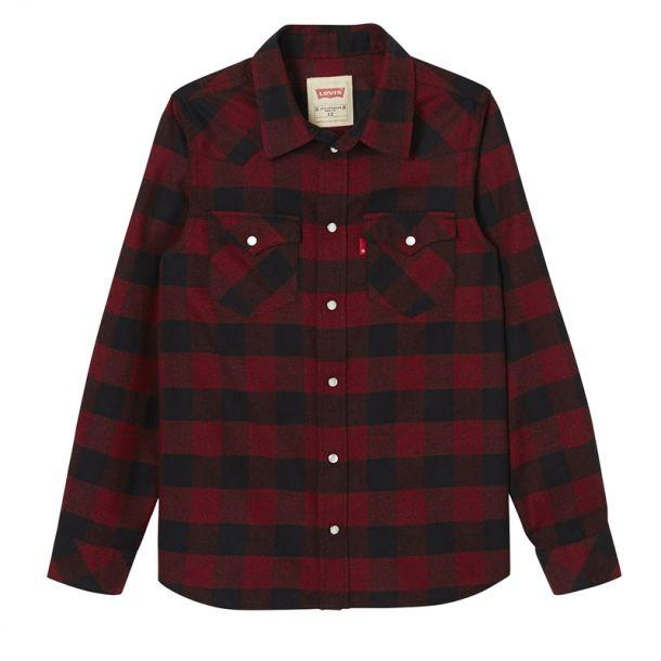 Boys Check Shirt