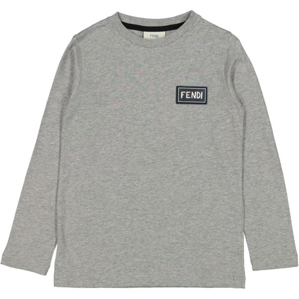Boys Applique Branded T-shirt