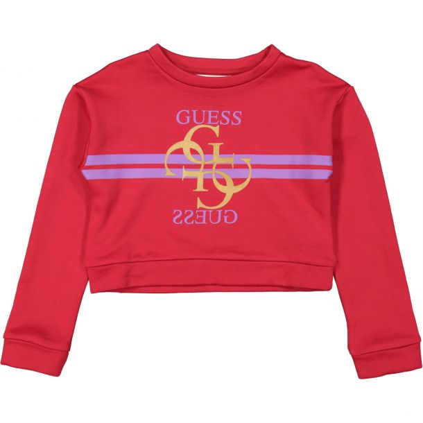 Girls Jersey Logo Sweatshirt