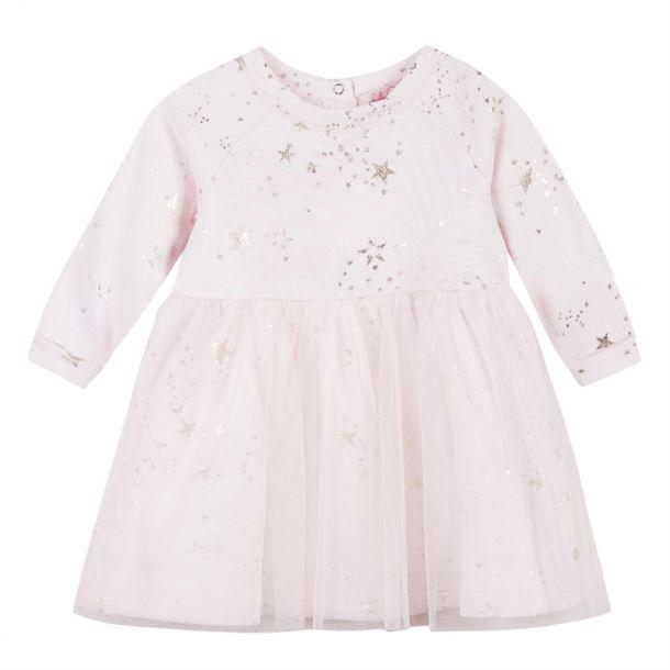 Baby Girls Star Print Dress