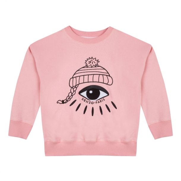 Girls Edana Printed Sweatshirt