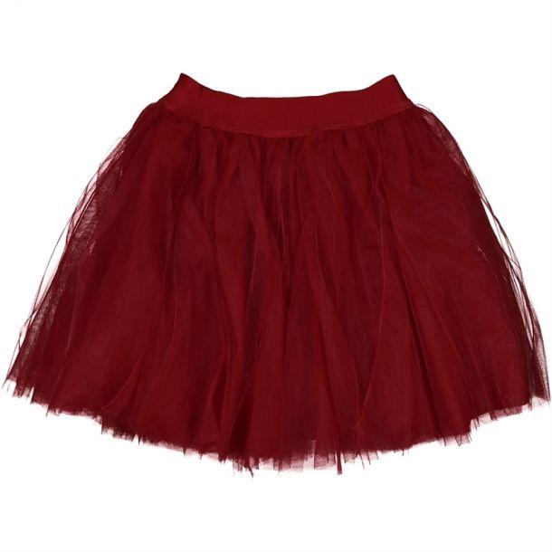 Girls Branded Tulle Skirt