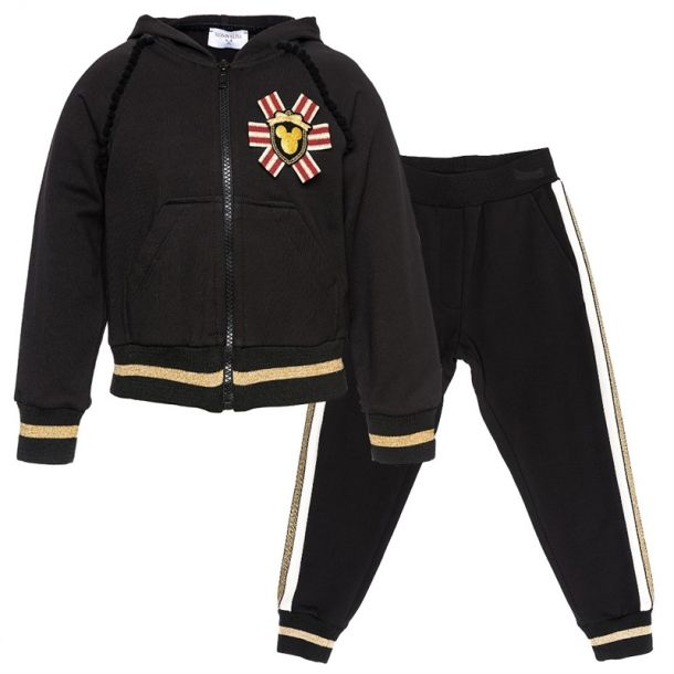 Girls Mickey Jersey Tracksuit