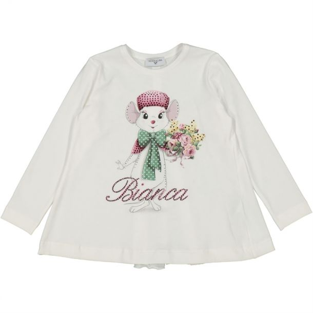 Girls Bianca Diamante T-shirt