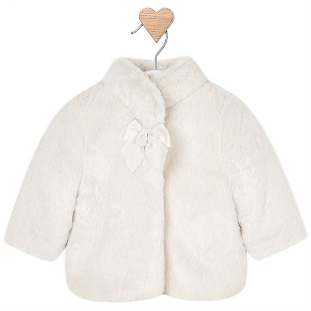Baby Girls Faux Fur Jacket