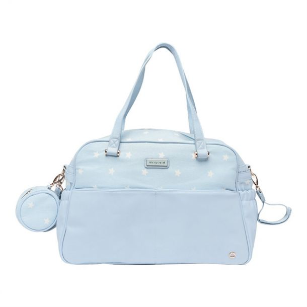 Babies Blue Changing Bag