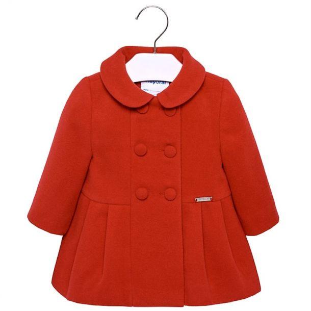 Baby Girls Classic Coat
