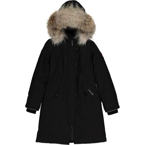 Black Brittania Down Coat