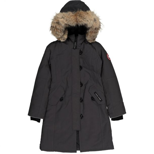 Graphite Brittania Down Coat