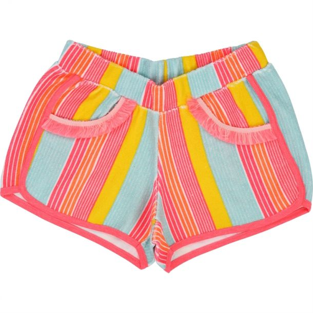 Girls Stripe Shorts