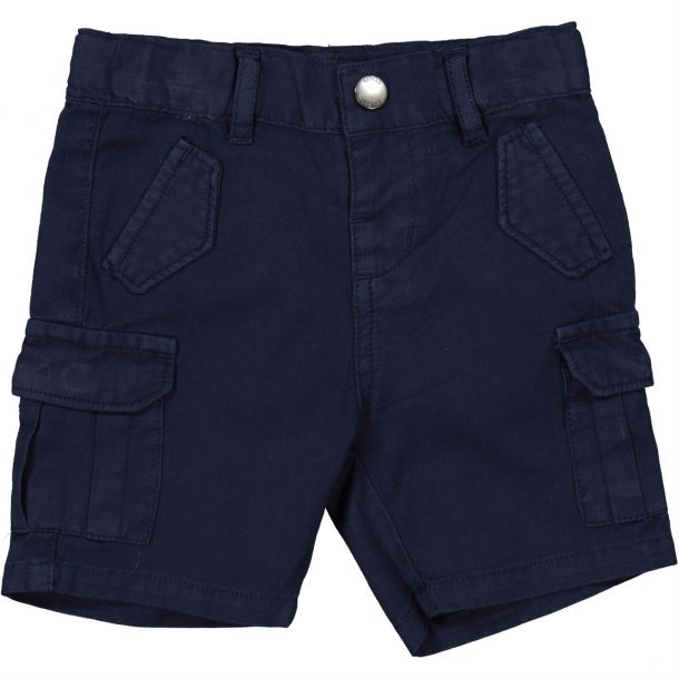Baby Boys Navy Pocket Shorts