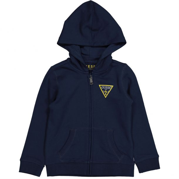 Boys Branded Jersey Zip Up