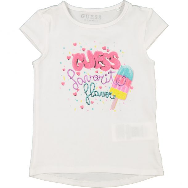 Girls Ice Lolly Print Tshirt