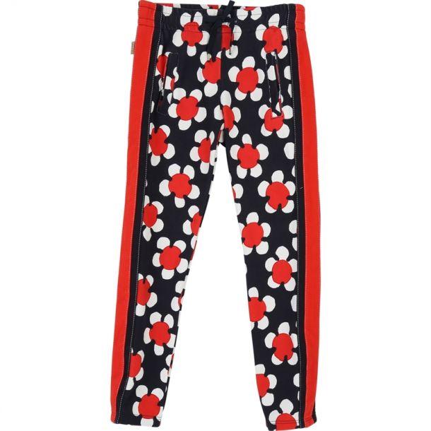 Girls Daisy Print Trousers