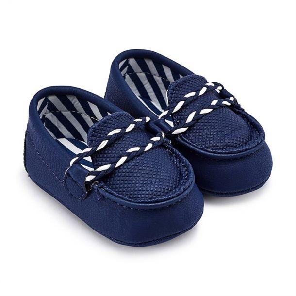 Baby Navy Loafer Pre Walker