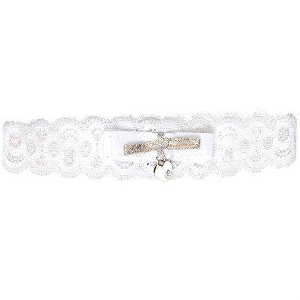 Baby Girls White Lace Headband