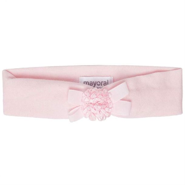 Baby Girls Pink Flwr Headband