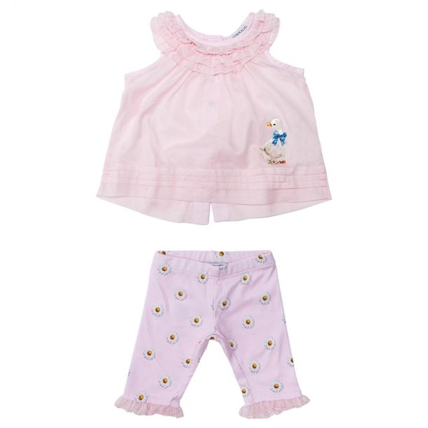 Baby Girls Daisy Top/leggings