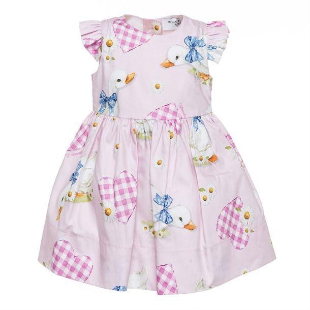 Baby Girls Goose & Heart Dress