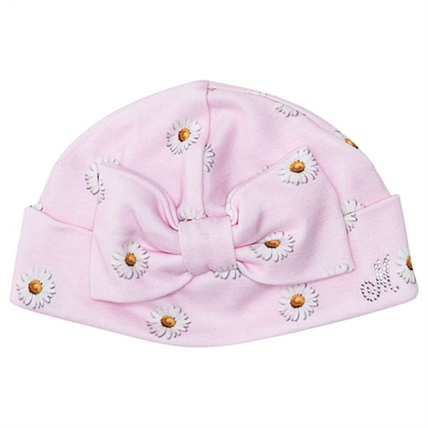 Baby Girls Daisy Pull On Hat