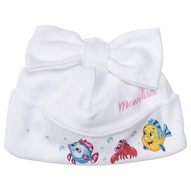 Baby Girls Mermaid Pull On Hat