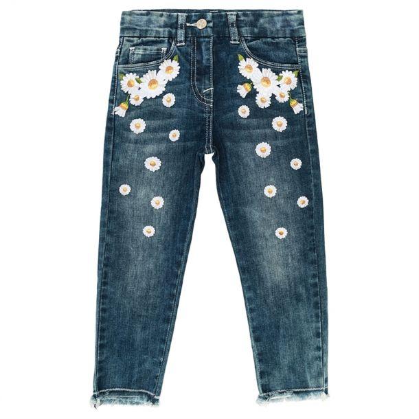 Girls Daisy Denim Jeans