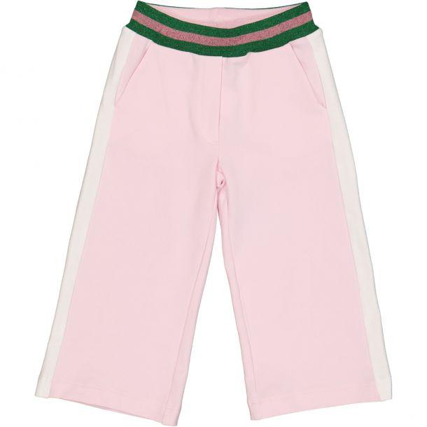 Girls Pink Jersey Bottoms