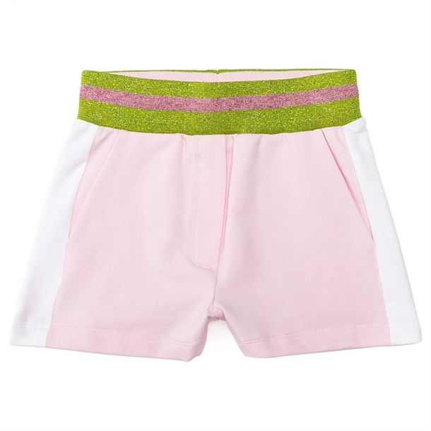 Girls Pink Jersey Shorts