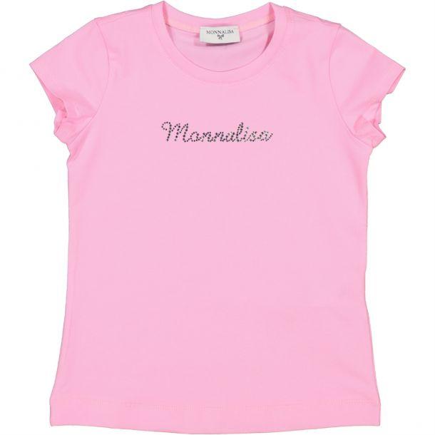 Girls Pink Design T-shirt