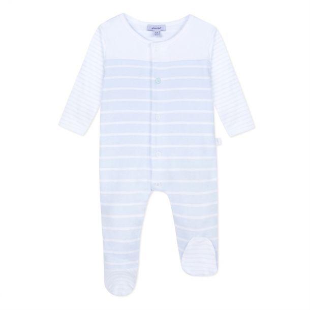 Baby Boys Stripe Romper